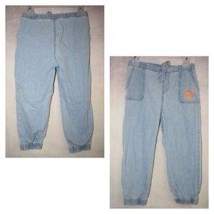 EUC Mickey Mouse pants